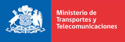 Logo Ministry of Transportation and Telecommunication Chile