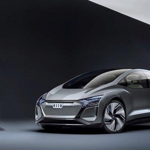 Autonomer, elektrischer Audi für Megacities