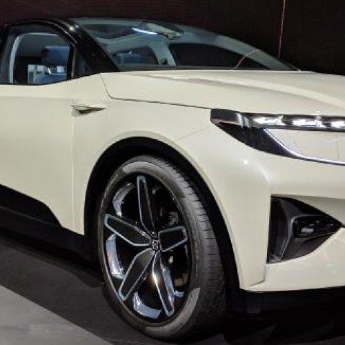 Byton startet Elektro-SUV Serienproduktion Ende 2019