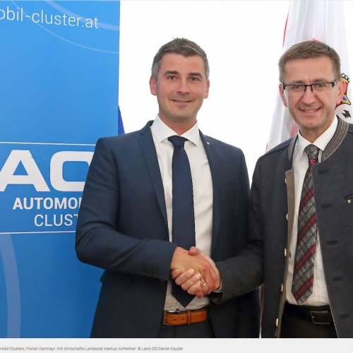 Florian Danmayr ist neuer Manager Automobil-Clusters OÖ