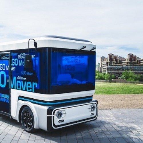 e.GO Mover mit Brennstoffzelle von Proton Motor