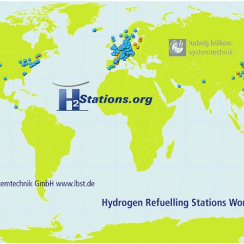Deutschland: Weltweit größter Zuwachs an H2-Tankstellen