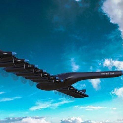 H2-elektrisches Passagierflugzeug
