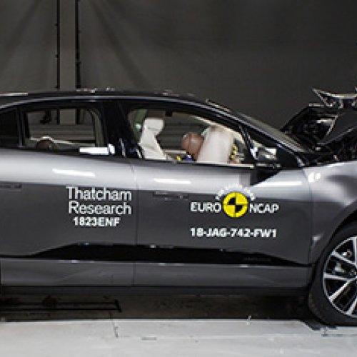 Jaguar I-Pace Receives 5 Star Safety Rating In Euro NCAP Crash Tests