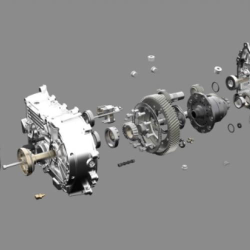 Kreisel: automatisiertes 2-Gang-Getriebe für E-Fahrzeuge