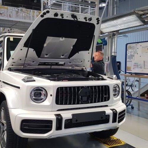 Magna Steyr erhöht Produktion in Graz
