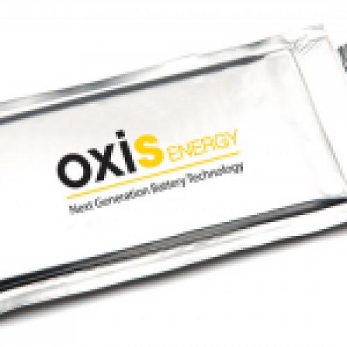 Oxis Energy improves Li-S Battery energy density
