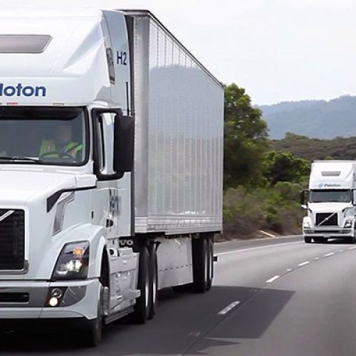 Autonomous Guided Platooning of Big Rigs Could Arrive Before Robo-Taxis
