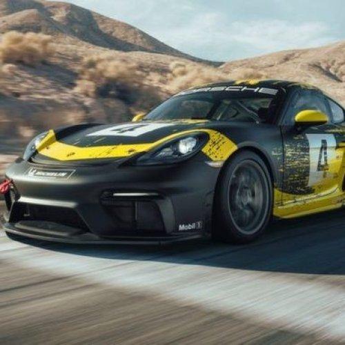 Bio-Leichtbauteile im neuen Porsche 718 Cayman GT4 Clubsport