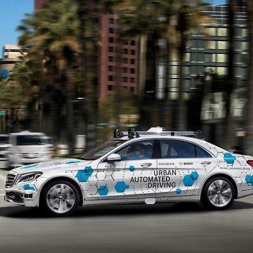 Daimler und Bosch: San José als Pilotstadt für automatisierten Mitfahrservice