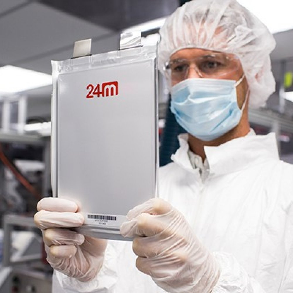 24M: Semi-Solid Lithium-Ionen Batterie