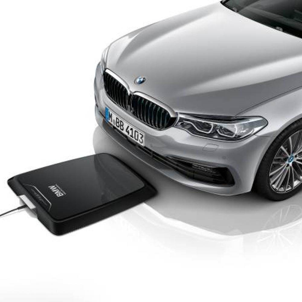 BMW stellt kabelloses Laden für Plug-In Hybrid vor