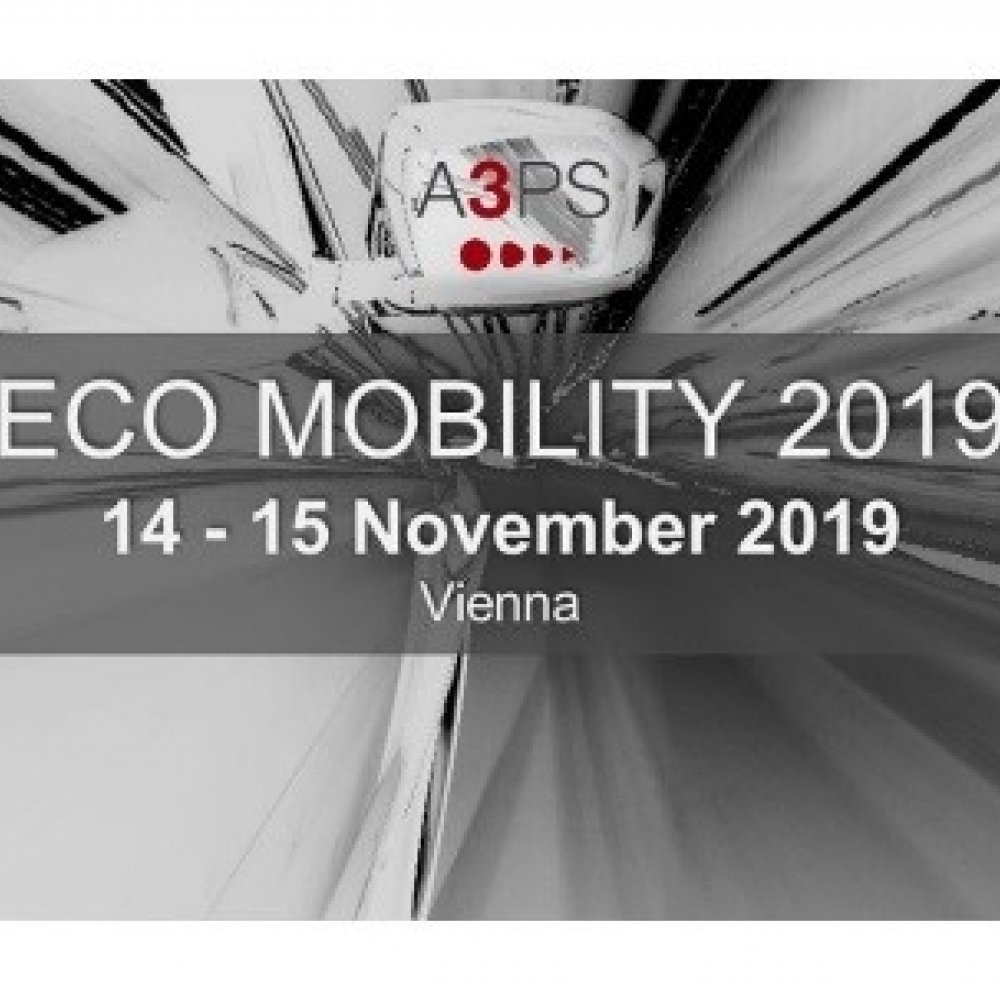 A3PS conference Eco-Mobility 2019
