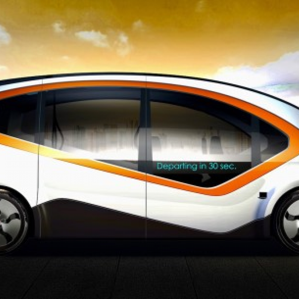 Fisker's Orbit autonomous electric shuttle, will feature Protean Electric's in-wheel eDrive technology, specifically, the Pd18 system with peak torque of 1,250 N·m and peak power of 80 kW (60 kW continuous).