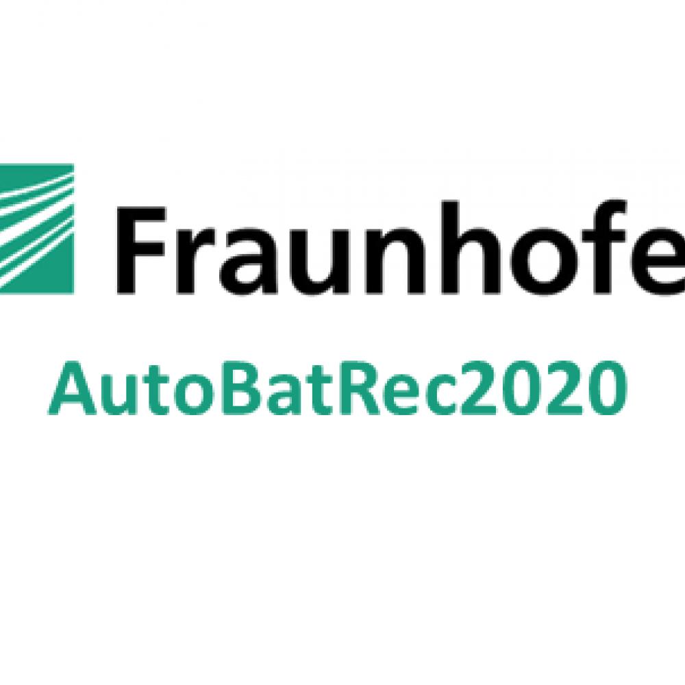 AutoBatRec2020: Fraunhofer forscht an effizientem Batterie-Recycling
