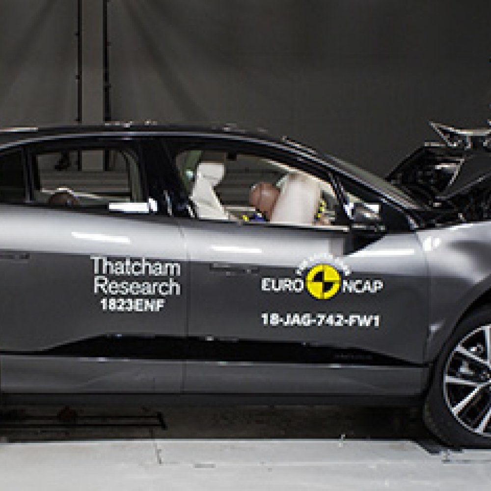 Jaguar I-Pace Receives 5 Star Safety Rating In Euro NCAP Crash Tests