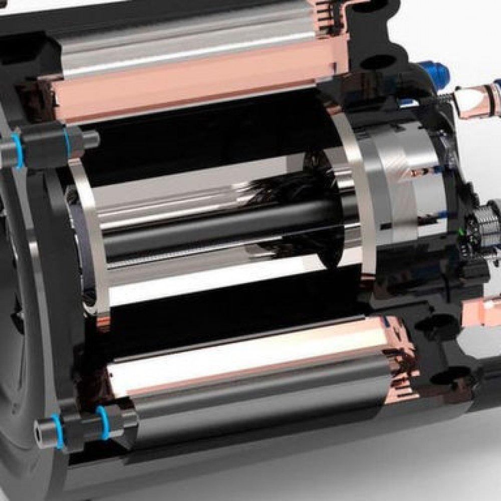 Kunststoffmotor für E-Autos