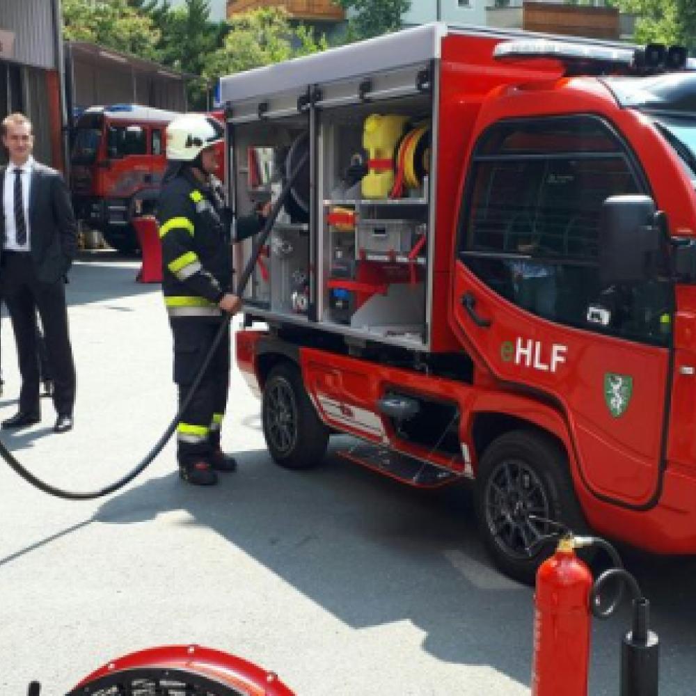 Magirus Lohr präsentiert voll elektrisches Feuerwehr-Fahrzeug