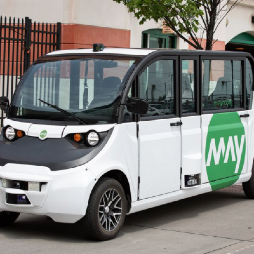 Small, autonomous shuttles for downtown transit in the U.S.