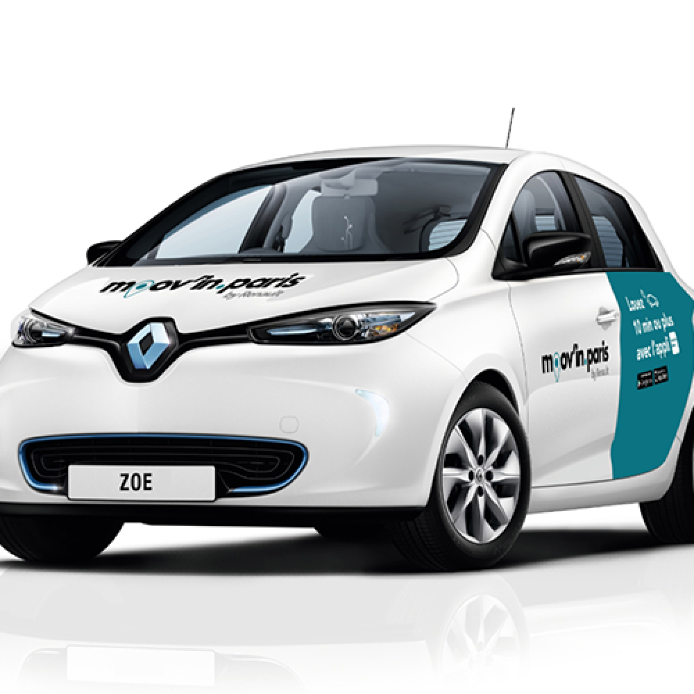 Paris: Renault-Carsharing