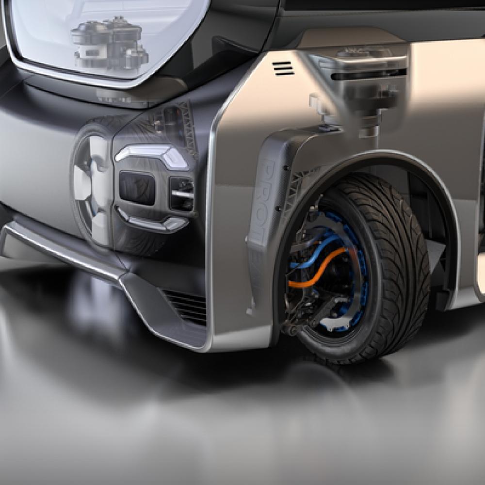 Protean 360+: flexible Manövrierfähigkeit durch 360°-Lenkung