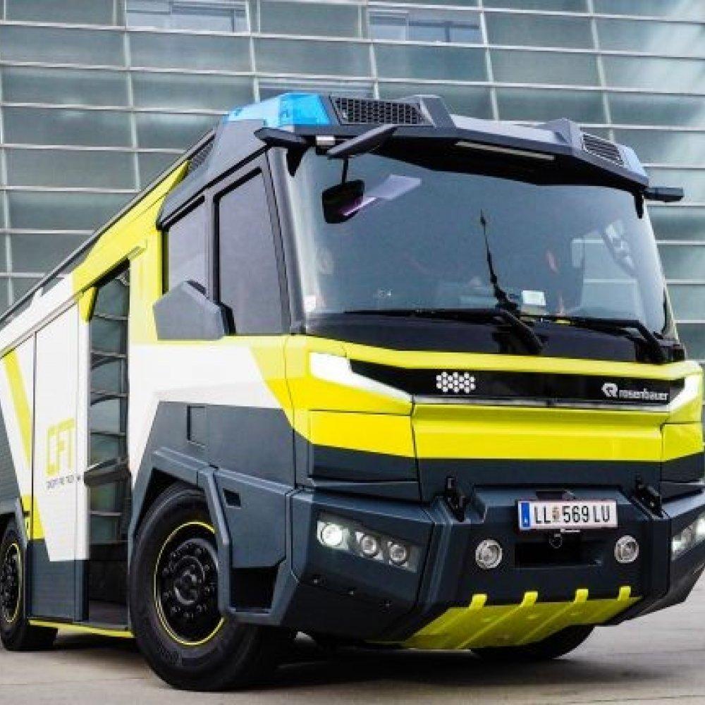 """Volvo Penta liefert den E-Antrieb für Rosenbauers """"Concept Fire Truck"""""""