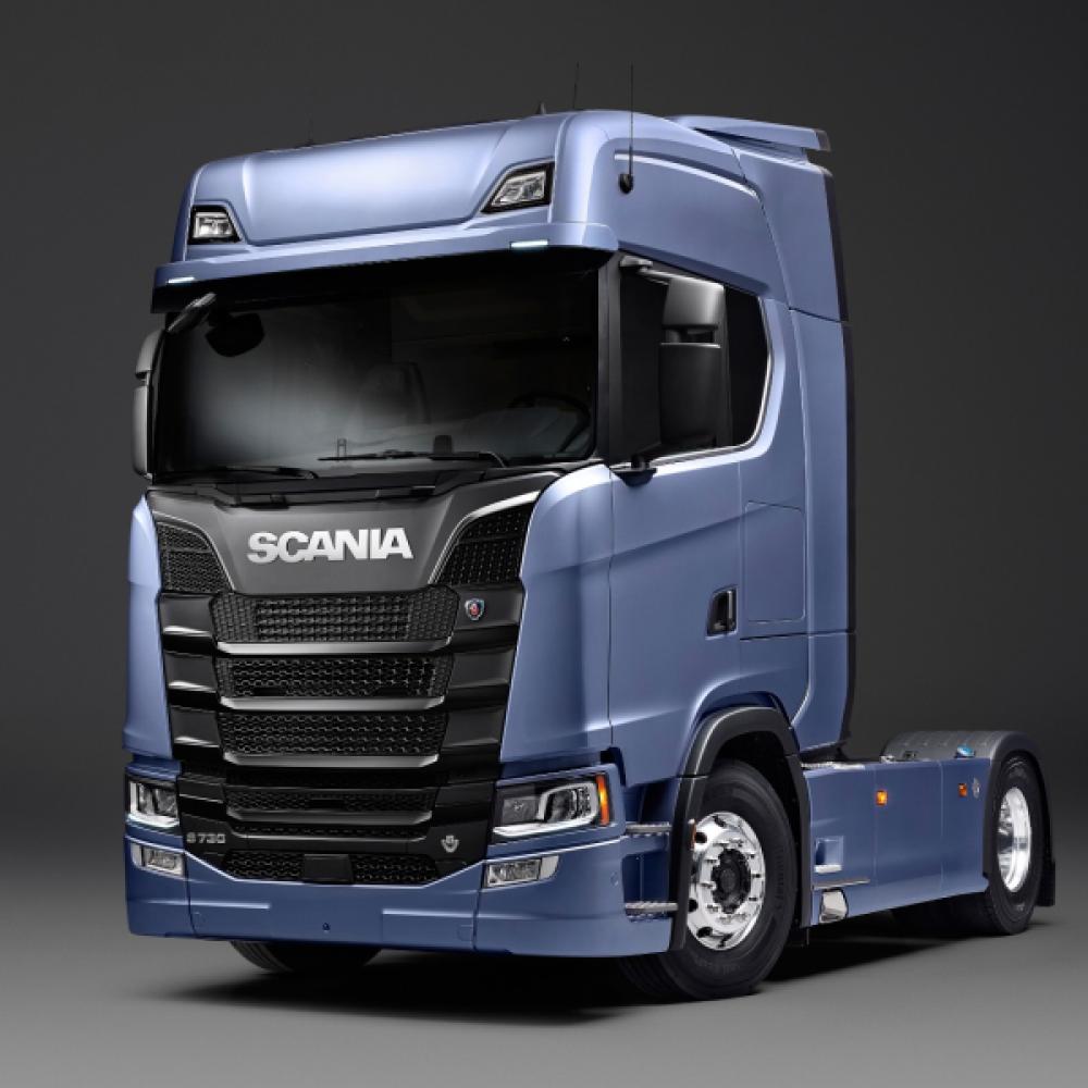 Hybrid-Lkw von Scania