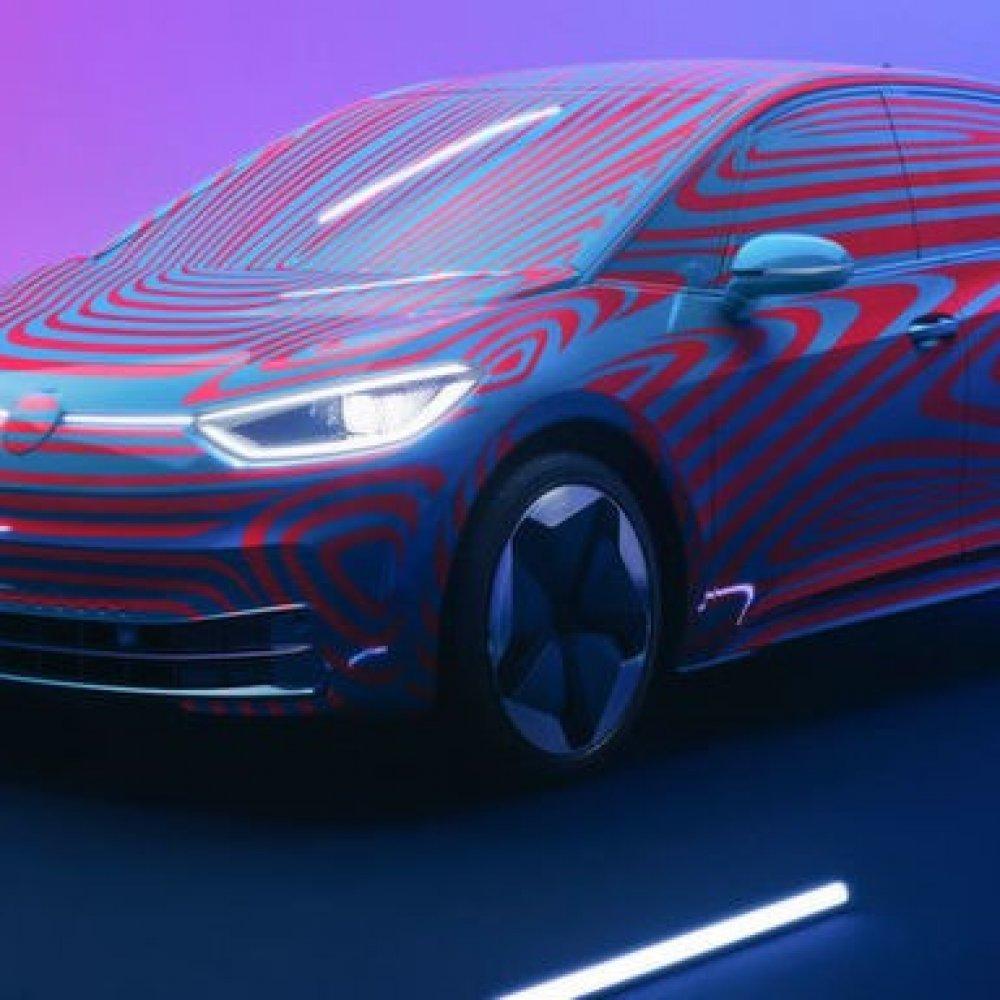 """Volkswagen stellt """"ID 3"""" vor"""