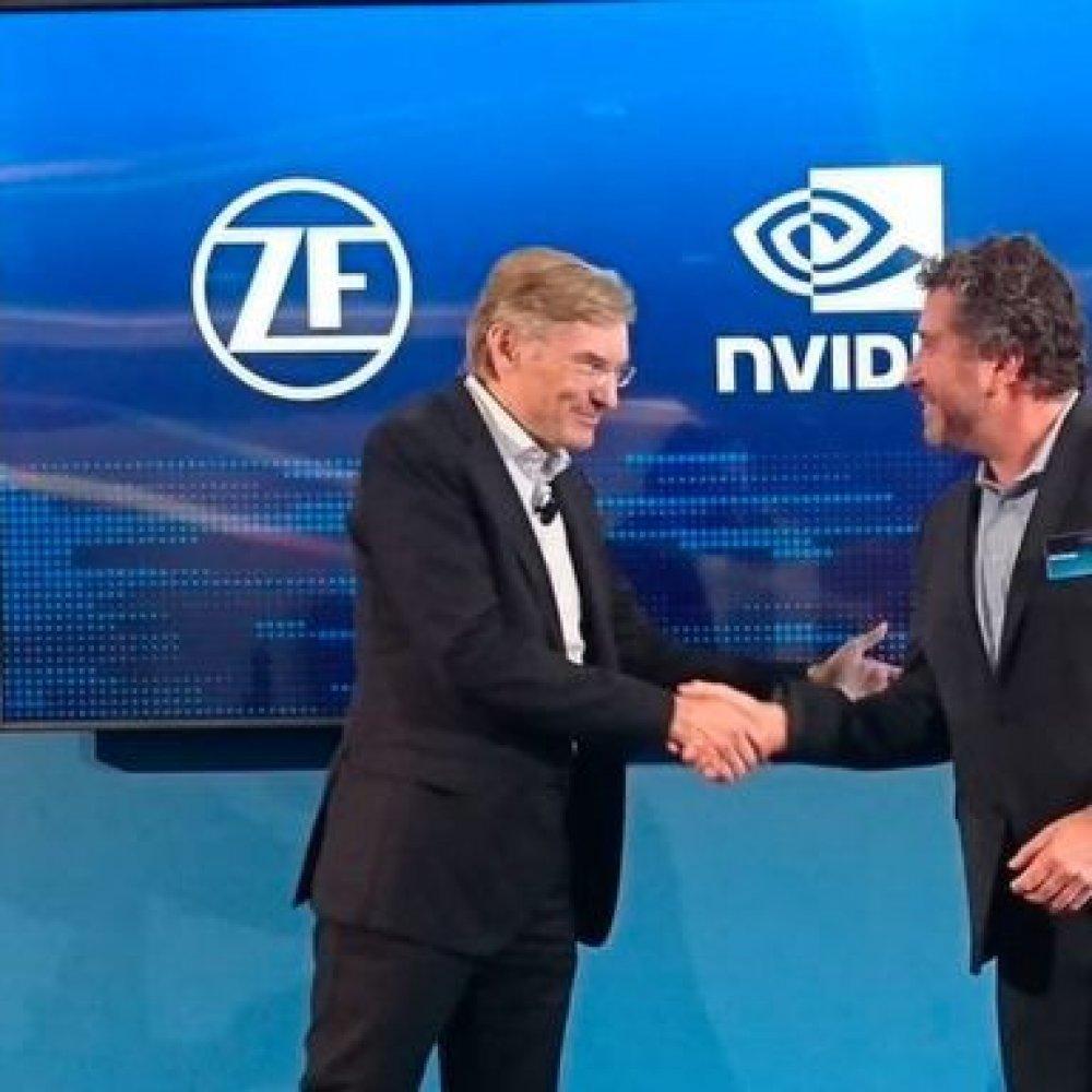 Zulieferer ZF: Supercomputer für autonomes Fahren
